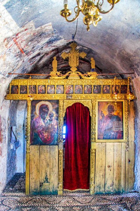 Panagia Tsambika: Some icons date from the 19th century, while the iconostasis is even older.