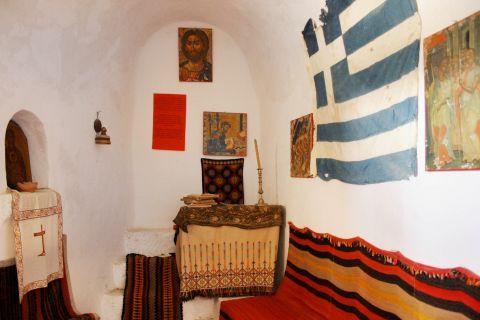 Chrissoskalitissa monastery: Exhibits of the Monastery's museum
