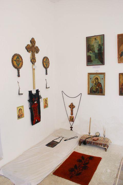 Chrissoskalitissa monastery: Byzantine icons