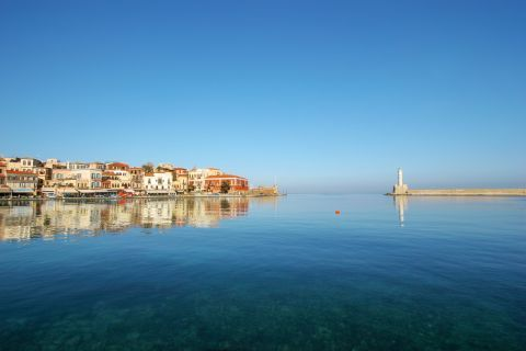 Venetian Lighthouse: The lighthouse of Chania is the symbol of the town