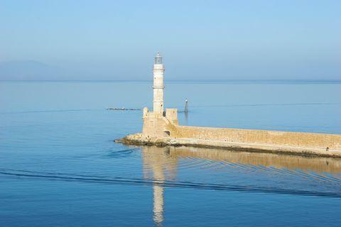 Venetian Lighthouse: The Venetian Lighthouse of Chania