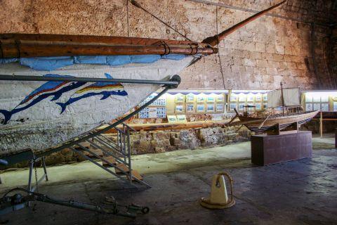 Naval Museum of Crete: Inside the museum