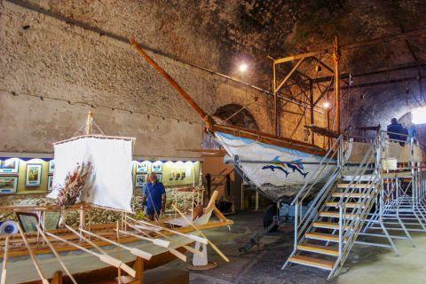 Naval Museum of Crete: Exhibits of the museum
