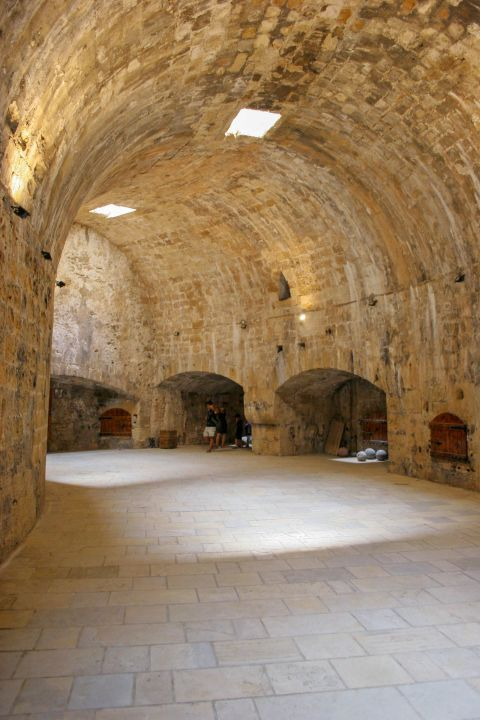Koules Fortress: Inside Koules fortress