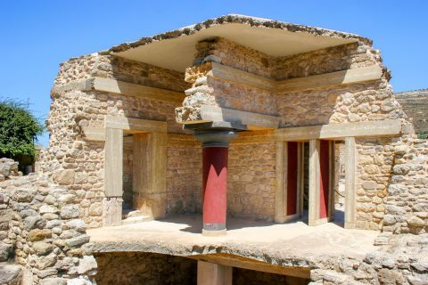 Knossos Palace: Remains of the Palace of King Minos