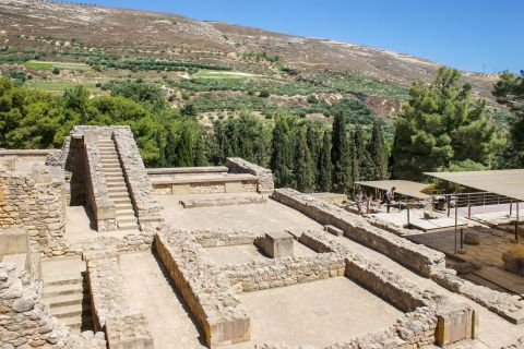 Knossos Palace: Ancient remains
