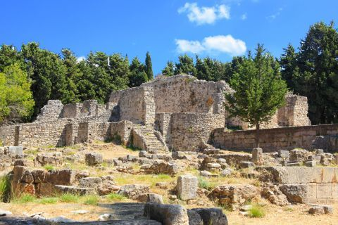 The Asklepieion is an ancient medical center placed 4 km to the southeast of Kos Town, beyond Platani village.