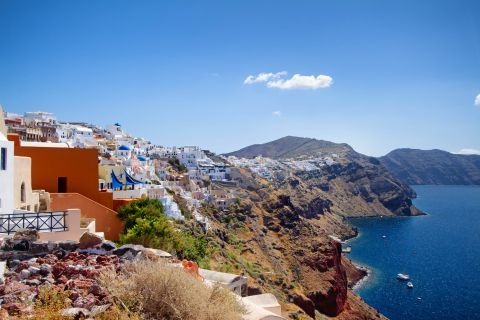 The Cycladic architecture of Caldera