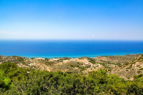Agios Ioannis Monastery: The Monastery is surrounded by lush greenery and offers an amazing view of the sea.