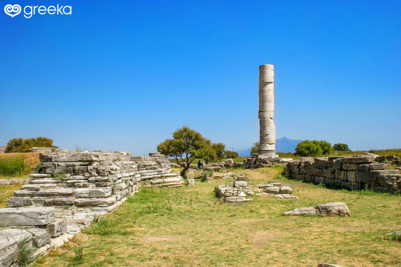 Heraion Sanctuary In Samos Greece Greeka Com