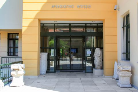 Pythagorion Archaeological Museum: The exhibits show the historical course of the island from the 5th millennium B.C. till the 7th century A.D.