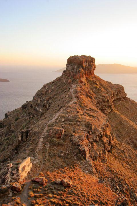 Skaros Rock: Skaros Rock is also known as Fortress Skaros or Castle Skaros