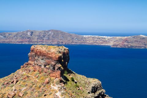 Skaros Rock: Santorini Skaros Rock