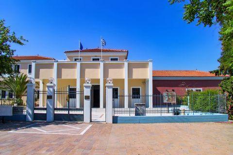 Archaeological Museum: The Archaeological Museum of Mytilene.