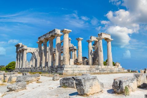 Athena Aphaia Temple: The Doric temple of Athena in Aphaia