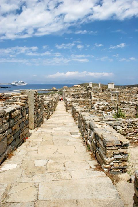 The Ancient settlements of Delos
