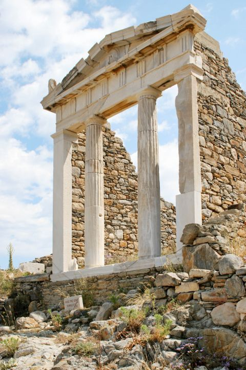 Ancient temple in Delos