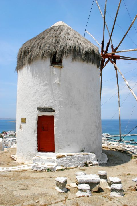 Agricultural Museum: The Agricultural Museum of Mykonos is housed in an old windmill