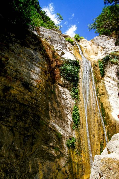 Waterfalls of Nydri: Dimossari waterfalls are found on the outskirts of Nydri.