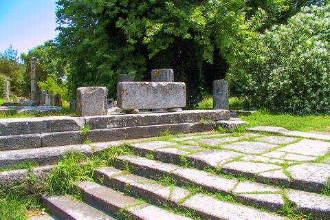 Ancient Agora: Ruins of temples and sanctuaries are found in Ancient Agora.