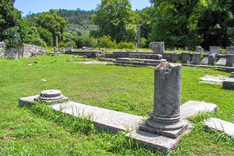 Ancient Agora: Ancient Agora is a place with beautiful natural surroundings and vegetation.