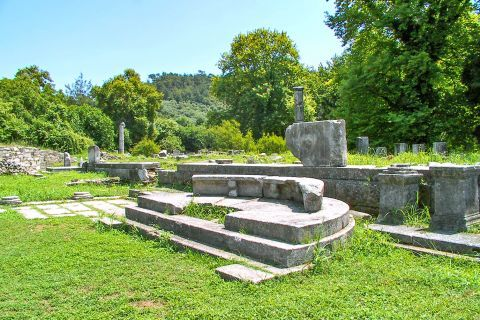 Ancient Agora: Buildings, sanctuaries and remains are found all around the site of Ancient Agora
