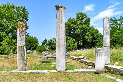 Ancient Agora: Ancient Agora was the political, administrative and religious center of the ancient town of Thassos.