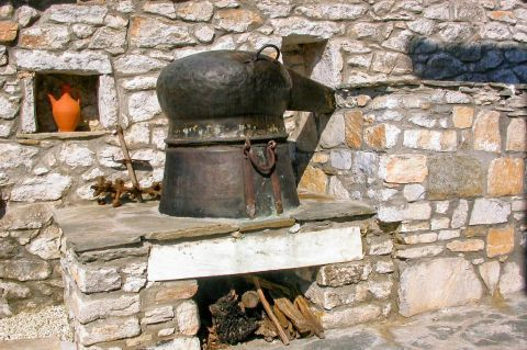 Theologos Folklore Museum: Facilities of the distant past.