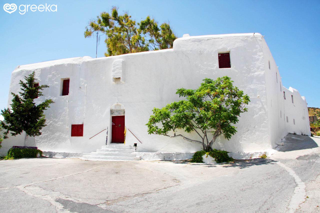 Paleokastro Monastery in Mykonos, Greece   Greeka.com