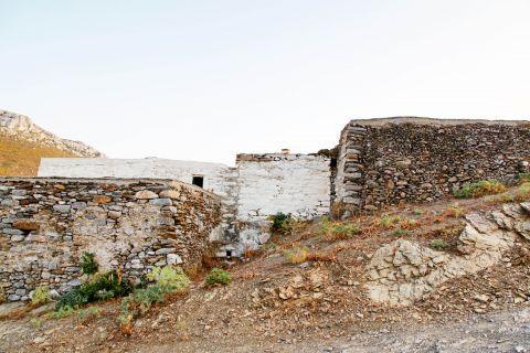 Minoan Site: The ruins of an Ancient Minoan civilization Moundoulia Hill