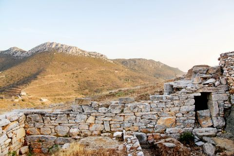 Minoan Site: Ruins of the Ancient Minoan Settlement of Amorgos