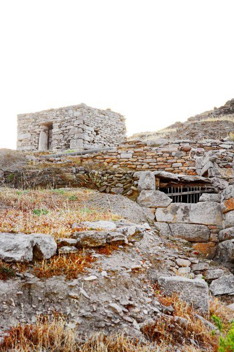 Minoan Site: Ancient Minoan Settlement