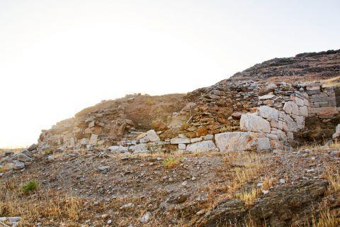 Minoan Site: Ancient ruins