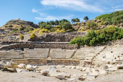 The Ancient Theater of Milos