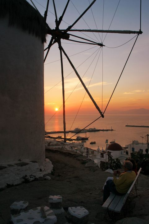 Windmills: Windmills are constructed on high spots, offering magnificent view