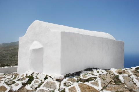 Zoodochos Pigi Monastery: The Monastery of Zoodochos Pigi is painted in white color