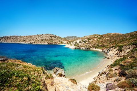 Fourni Island: The island has some amazing hidden coves with sandy beaches and crystal waters.