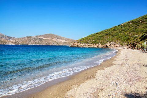 Fourni Island: Tranquil beach.