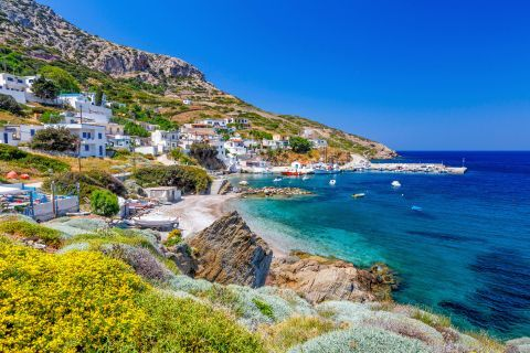 Fourni Island: The main village has some lovely, family-run hotels and taverns with delicious food.
