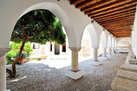 Byzantine Museum: Outside the Byzantine Museum of Parikia