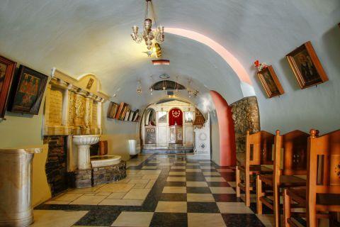 Evangelistria Church: Inside the Church