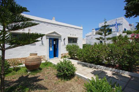 Tinian Artists Museum: Beautiful yard