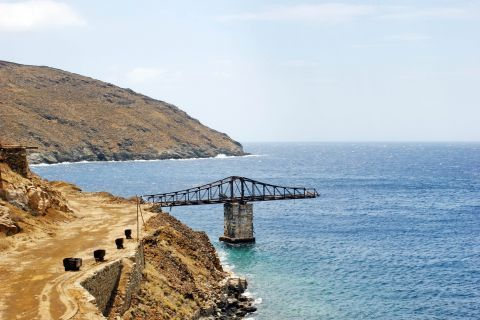 Old Mines: At the old mines of Serifos