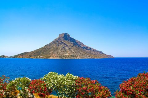Telendos Island: Beautiful view of Telendos islet.