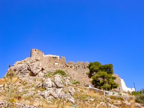 Chryssocheria castle is also called the Citadel of the Knights.