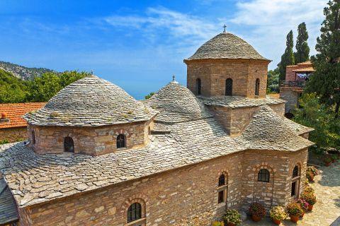Monastery of Evangelistria: The Monastery of Panagia Evangelistria