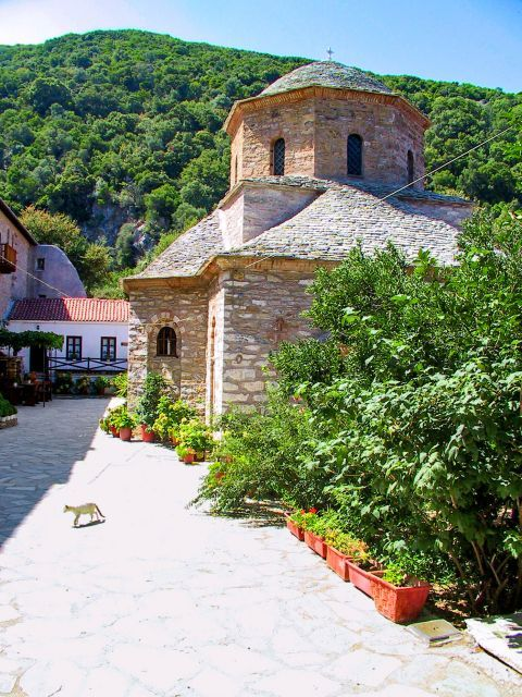 Monastery of Evangelistria:  The monastery was built in the early 19th century