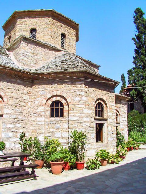 Monastery of Evangelistria: Stone built monastery.