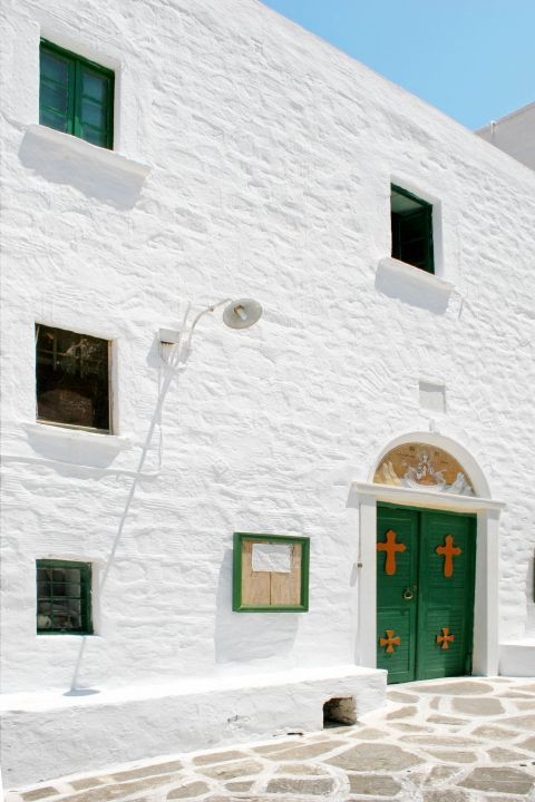 Logovarda Monastery: The monastery of Longovarda is decorated in a Cycladic way
