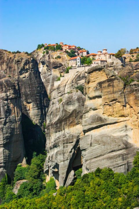 Varlaam Monastery: The Holy Monastery of Varlaam was named after the ascetic monk Varlaam, who lived on top of this rock as a hermit.